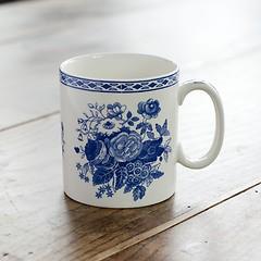 Spode-Mugs Blue Rose