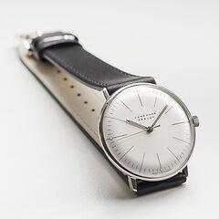 Armbanduhr Max Bill Silber