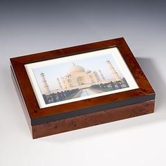 Wurzelholz Fotobox 13 x 18 cm