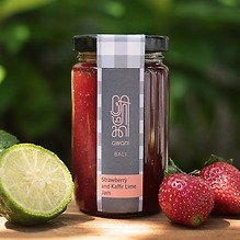 Awani Jam Strawberry and Kaffir Lime