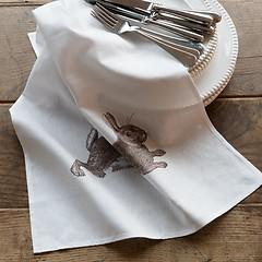 Thornback & Peel Geschirrhandtücher Hase