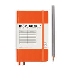 Leuchtturm1917 Notizbuch A6 liniert Orange
