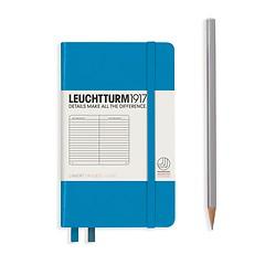 Leuchtturm1917 Notizbuch A6 liniert Azur