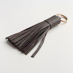 Schlüsselanhänger mit Tassel Taupe