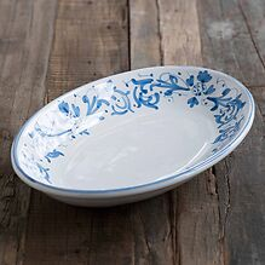 Ruggeri Ovale Platte Adelasia Ø 36 cm Adelasia Blu