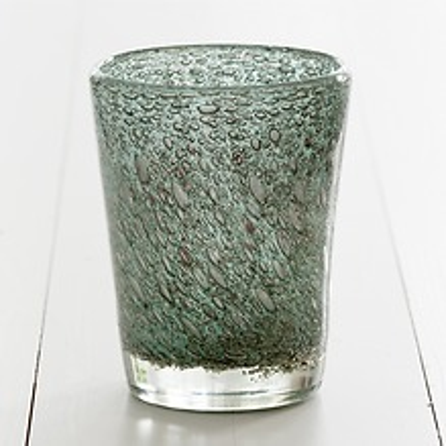 DutZ Bubbles konische Vase 19 cm Jade Bubbles