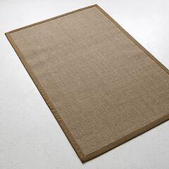 Sisalteppich Bouclé 120 x 180 cm Khaki