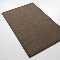 Sisalteppich Bouclé 150 x 240 cm Braun