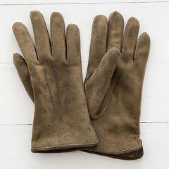 Herren Handschuh aus Ziegenleder Beige
