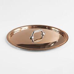 Mauviel Kupfer-Deckel mit Edelstahl-Griff Ø 24 cm