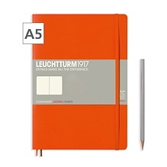 Notizbuch A5 Dotted Orange