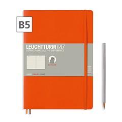 Notizbuch B5 Composition  Liniert Orange