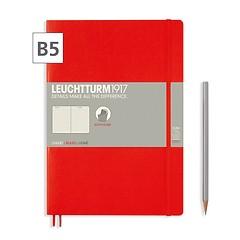 Notizbuch B5 Composition  Liniert Rot