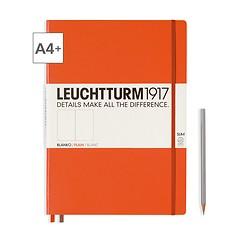 Leuchtturm1917 Notizbuch A4+ Master Slim Blanko Orange