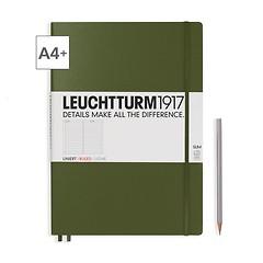 Notizbuch A4+ Master Slim Liniert Army