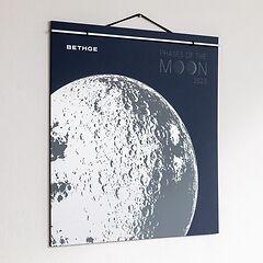 BETHGE Mondphasen-Wandkalender 2020
