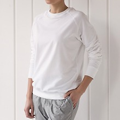 Sunday in Bed Pyjamashirt Rugby Weiß