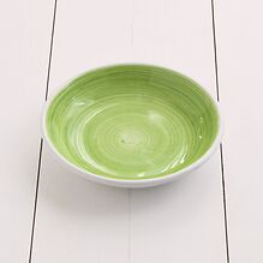 Ruggeri Brushed Verde Mela Suppenteller 22 cm