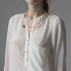 Marjana von Berlepsch Halskette Misty Vergoldet