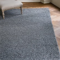 Handgewebt: Teppich Aquinnah Grau