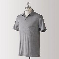 Sunday in Bed Pyjamashirt Morris Kurzarm Grau