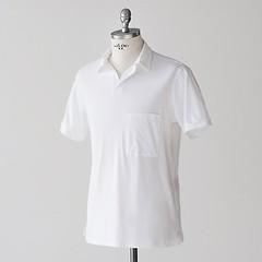 Sunday in Bed Pyjamashirt Morris Kurzarm Weiß