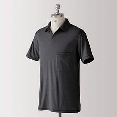 Sunday in Bed Pyjamashirt Morris Kurzarm Nearly Black