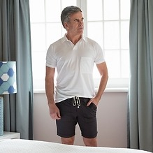 Sunday in Bed Schlafshorts Oliver Nearly Black