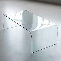 Bow Wohnzimmertische aus Glas Sofatische