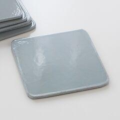 6 Untersetzer Grey/Silver