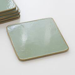 6 Untersetzer Greenstone/Gold