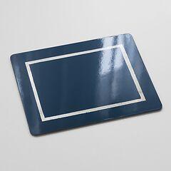 4 Tischsets Blue/Silver