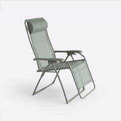 FIAM Komfortliegestuhl Relax Salbei