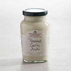 Flavored Aioli Roasted Garlic