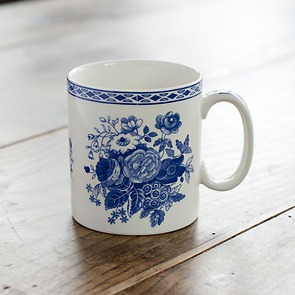 Spode Mug Blue Rose 250 ml