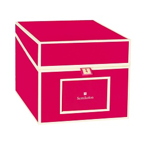 Semikolon CD Box Pink
