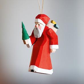 Kleiner Weihnachtsmann-Anhänger
