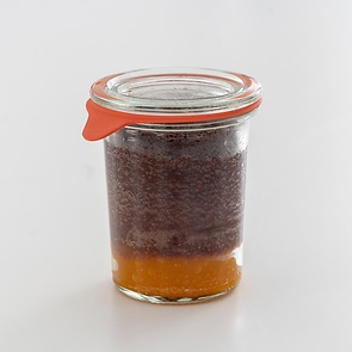 Göttinger Schokoladensoufflé Mango Chili