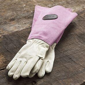 Bradleys Rosenhandschuhe pink Größe 10