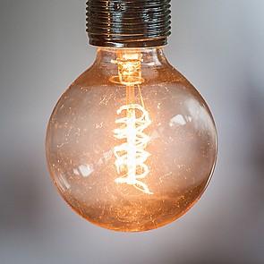 Glühfadenbirne Globe 60 Watt