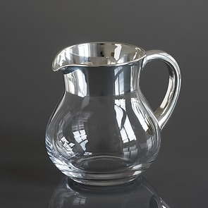 Krug 1,0 l Silber poliert