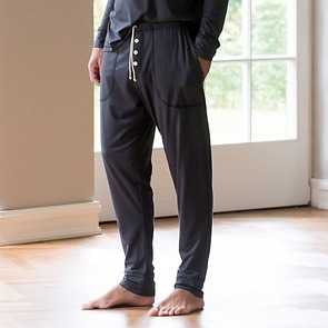 Sunday in Bed Pyjamahose Christopher Nearly Black XL