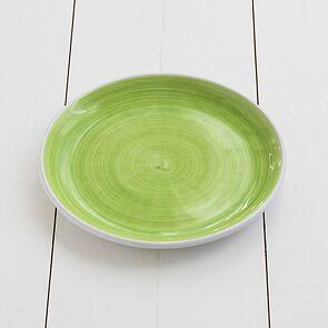 Ruggeri Brushed Verde Mela Mittlerer Teller 26 cm