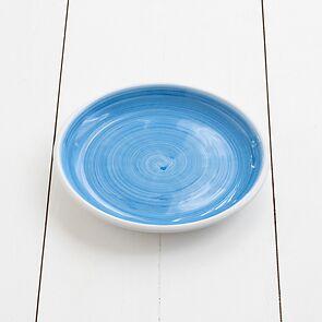 Ruggeri Brushed Azzurro Kleiner Teller 21 cm