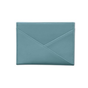 Treuleben Credit Card Caddy Pigeon Blue