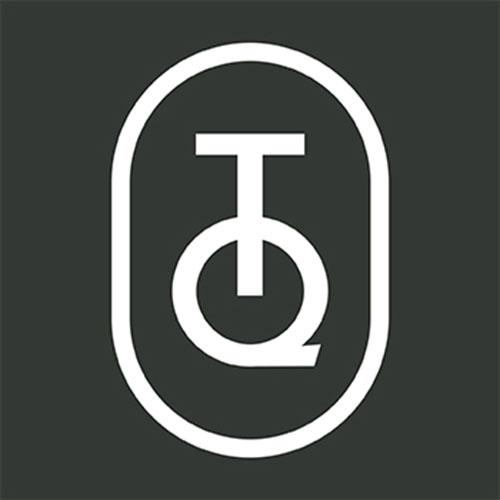 Quadratisches Tablett Mira Blau