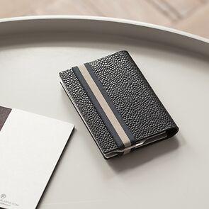 Q7 Wallet Classy Black/Navy
