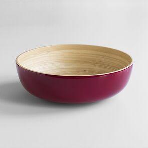 Salatschüssel Bambus XL Pink
