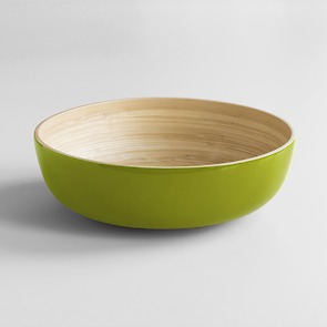 Salatschüssel Bambus XL Hellgrün