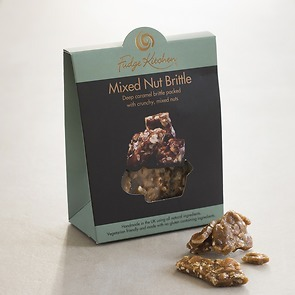 Fudge Kitchen: Mixed Nut Brittle